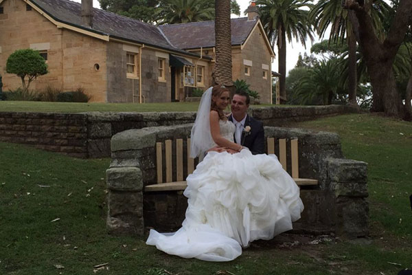 Congratulations to Hope-Rebekah and Matthew